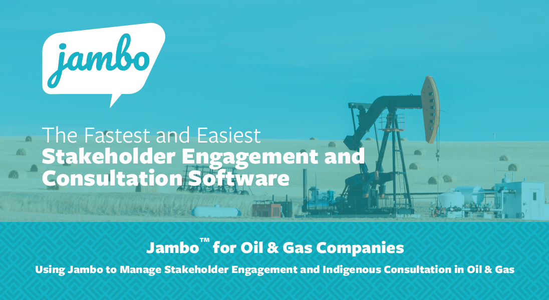 Jambo for Oil and Gas