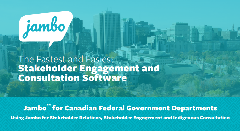 Jambo for Canadian Federal Government Departments