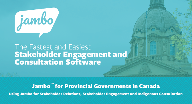 Jambo for Provincial Governments in Canada